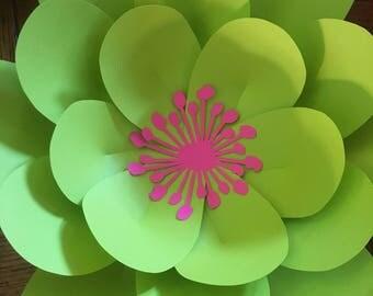 Medium paper flower