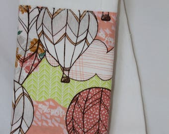 Hot Air Balloon Burp Rag