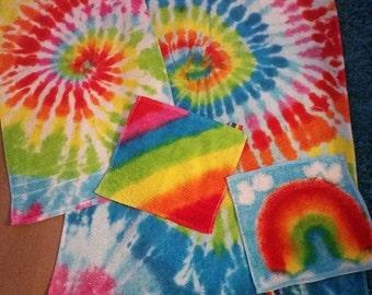 Tie Dye Towels