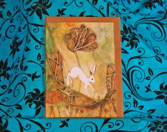 Solstice Hare Card A6