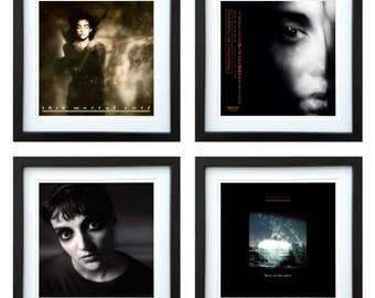 This Mortal Coil - Framed Album Art - Set of 4 Images