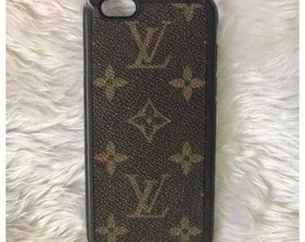 Handmade iPhone 6 Case from Canvas Louis Vuitton