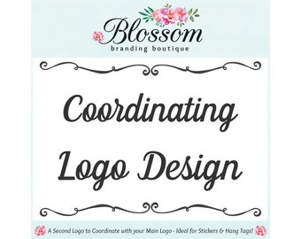 Coordinating Logo Design for your Previously Purchased Main Logo - Keep Your Business Looking Professional with Cohesive Branding!
