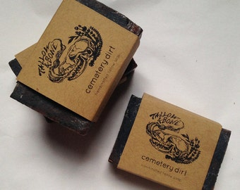 Cemetery Dirt tallow soap