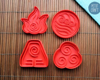 Avatar: The Last Airbender - Cookie Cutters, Cake and Fondant Decorates