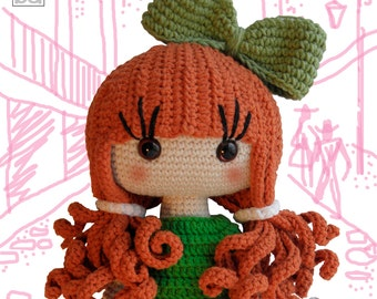 crochet pattern amigurumi doll - Nicole, crochet doll, amigurumi pattern, amigurumi doll, amigurumi, crochet doll pattern, crochet pattern
