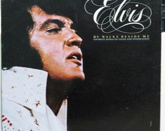 Elvis Presley Gospel Lp He Walks Beside Me Rca Victor