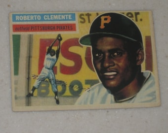 1956 Topps Roberto Clemente #33