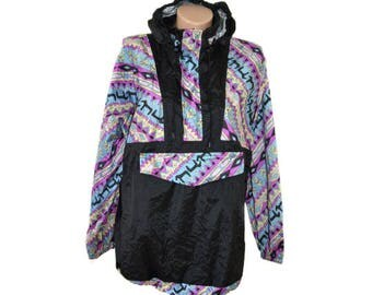 Vintage Killtec ® Sports & Fashion rain jacket hooded size S