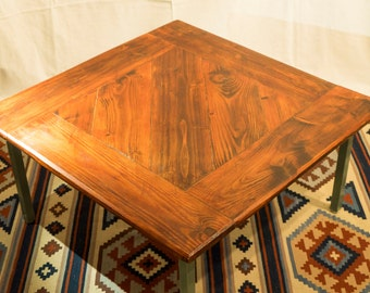 Coffee Table - 1960s Frame With Wooden Top