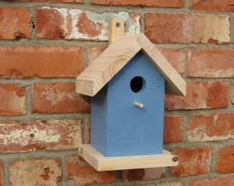 Bird Nest Box (blue)