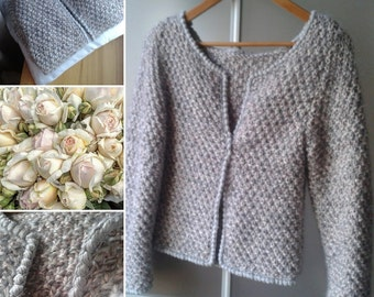 "Handmade knitting jacket ""Channel"""