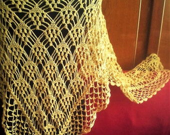 knitted shawl Spring Summer