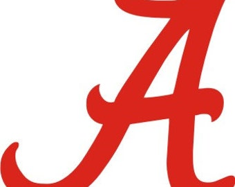 University of Alabama SVG,Football , Logo files by layers - Make Your Own Print Cut Crafts, Shirts, Wall Art, Vinyl Decals,ECT
