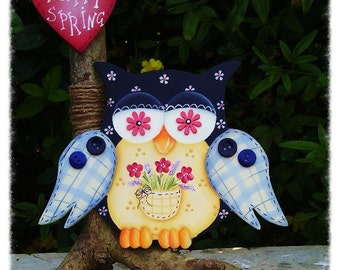 E-pattern Flower's owl