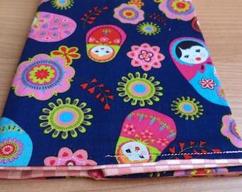 Notebook covers matryoshka
