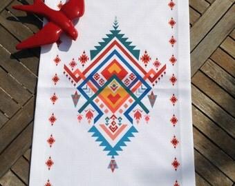 Ethnic motif Runner