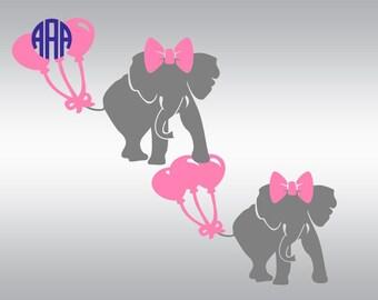 Elephant svg file, Elephants svg, Elephant svg, Elephant clipart, Monogram svg, Cricut, Cameo, Cut file, Clipart, Svg, DXF, Png, Pdf, Eps