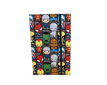 Kindle Case made with Marvel Fabric, Kindle Cover, Samsung Tab Case, Nook Case, iPad mini Cover, Kobo Cover, iPad mini Case