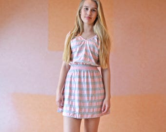 Mia dress  cool summer dress peach dress