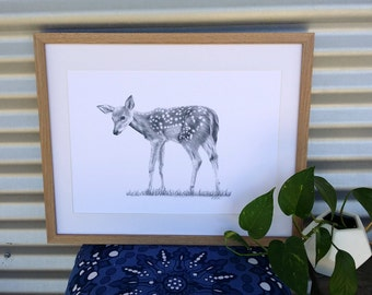 A3 Fawn Print (Ed. 9 of 50)