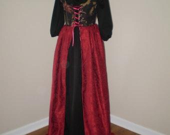 Overdress/chemise set