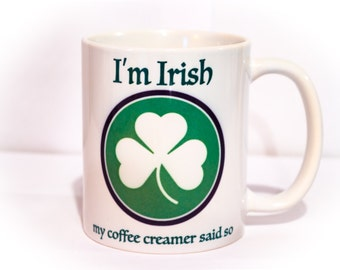 St patty's day coffee mug