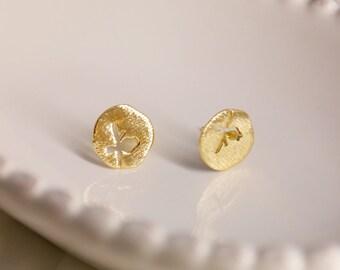 Hollow Bird Earrings 18k Gold Platde/ Sterling Silver Stud Earrings For Women Jewelry