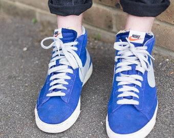 Nike Blazer trainers blue