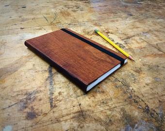 Wood Bound Notebook