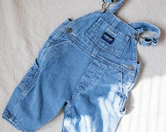 Vintage Kids Denim Dungarees