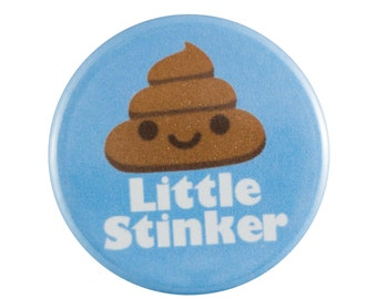 "Little Stinker 1.25"" Button Pin"