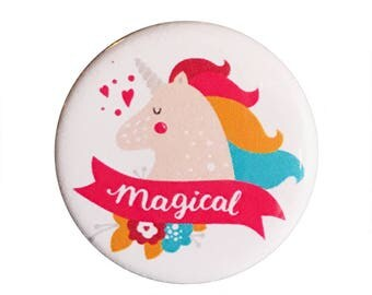 "Be Magical 1.25"" Button Pin"