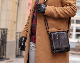 Handmade leather messenger bag, Leather cross body bag, Leather handbag for men,Mens handbags, leather messenger bags Mens leather bags(36)