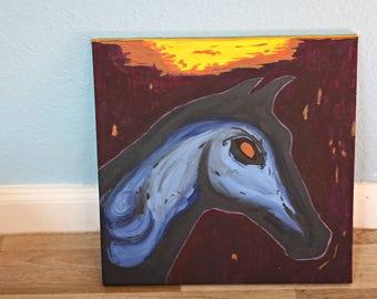 Horse soul Meteor single table