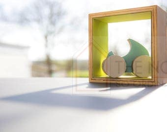 Wooden Display Cube ,Frame
