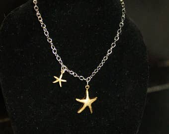 Ball jointed doll 18inch doll American girl doll starfish necklace