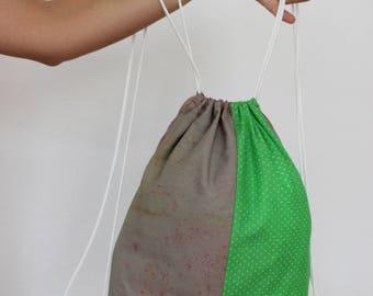 Fabric backpack, bag, backpack