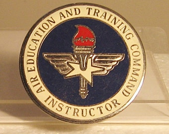 Air Education and Training Command Instructors Badge