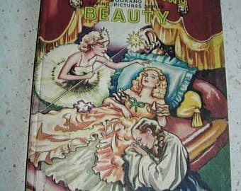 sleeping beauty book with colour pop ups