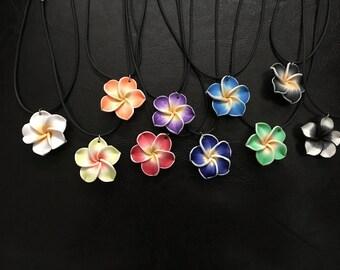 Hawaiian Plumeria Necklaces