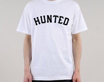 HUNTED - 'OG LOGO' tee: white