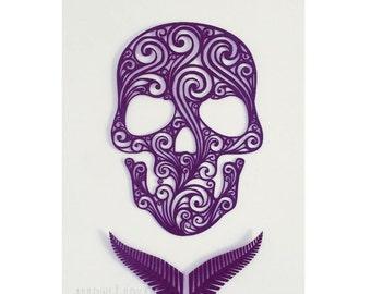 Tribal Designed Skull Wall Art