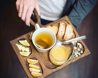 Serving board, breakfast tray, serving Platter, large cheese platter board, Steak platter, meat serving platter, wood steak serving board
