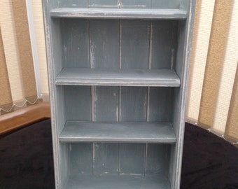 Distressed Open Shelving
