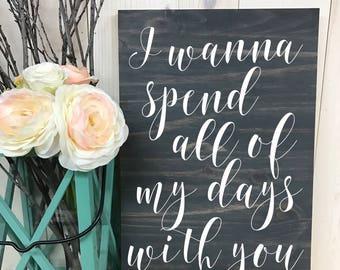 Custom Quote Sign // Custom Wedding Wood Sign // Custom Sign // Home Decor // Wedding Sign // Wood Sign // Quote Sign // Wedding //