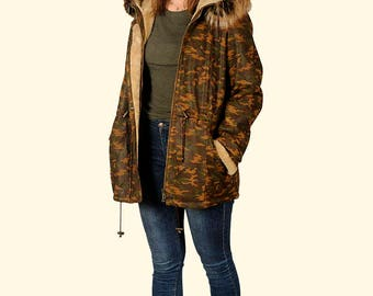 PARKA - Women's Army Jacket