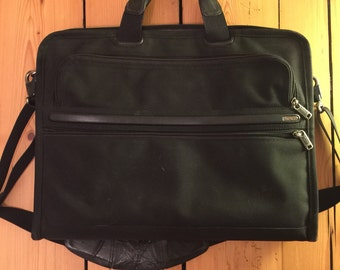 Tumi briefcase black