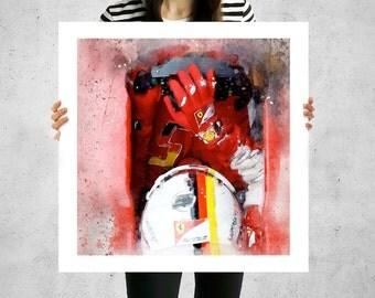 Formula 1 canvas, F1, paintings, F1 memorabilia,  F1 racing, formula one, oversized art prints,  racecar nursery, large canvas paintings