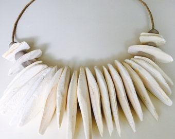 Medium size ~ Simple ~ Natural ~ Cuttlefish bone wall hanging decor